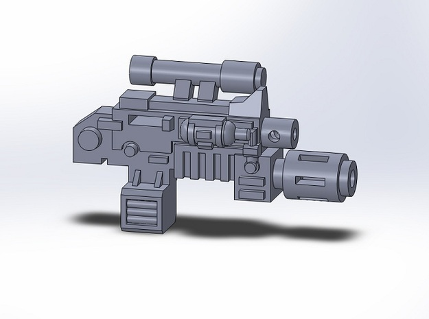 10x Combination Weapons, 5x Flame, 5x Melt 3d printed