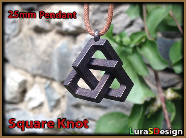 Square Knot Pendant
