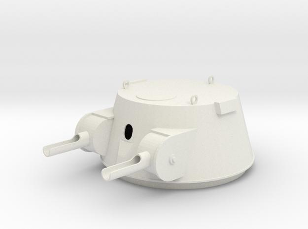DShKM-2B 1-16 in White Natural Versatile Plastic