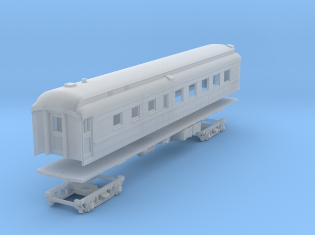 PRR D78AR (shortened)(1/160) in Smooth Fine Detail Plastic