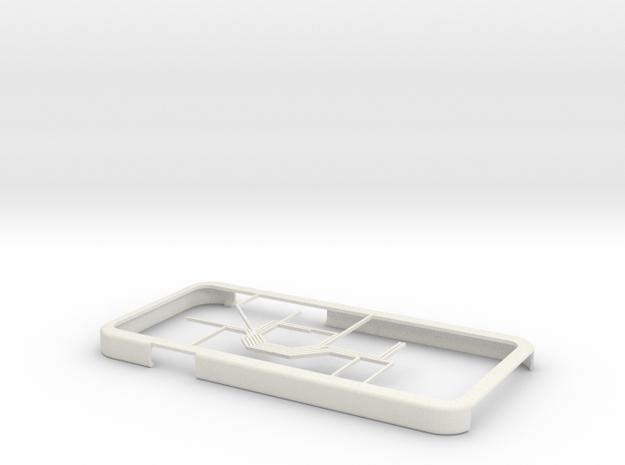 Oslo Metro map iPhone 6 case in White Natural Versatile Plastic