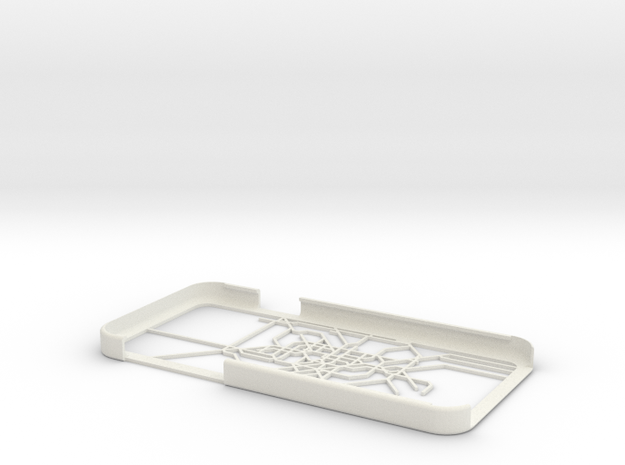 Berlin S-Bahn/U-Bahn map iPhone 6 case in White Natural Versatile Plastic