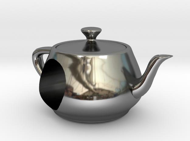 Utah Teapot European Charm Bead