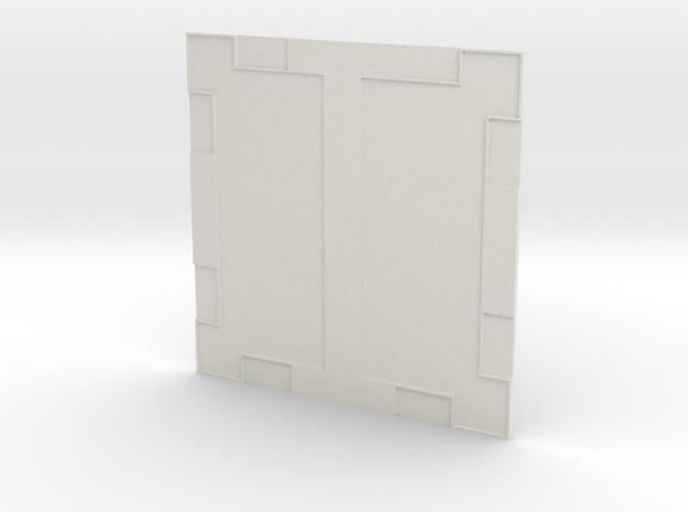 Sample Floor 003 in White Natural Versatile Plastic