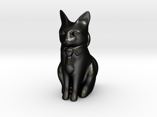Business Cat 3d printed