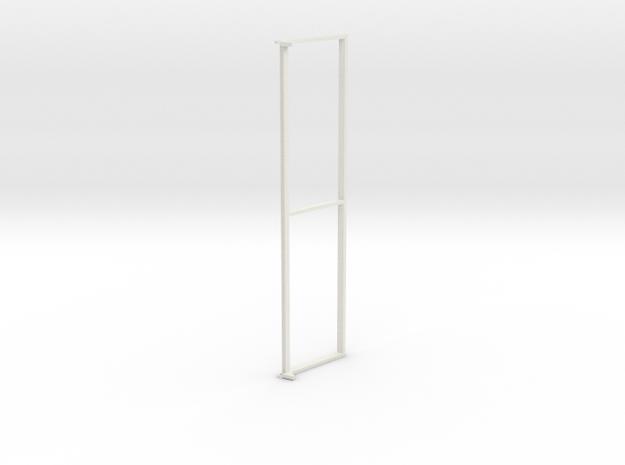 Unimog U401 Fenster Vorne 1:10 in White Strong & Flexible