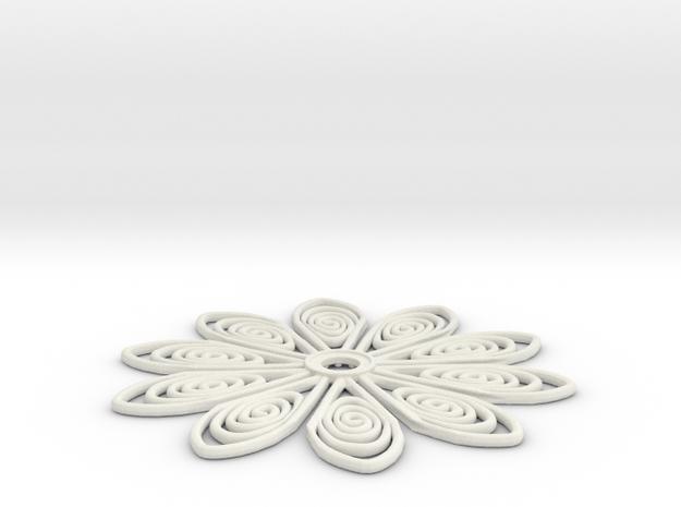 60mm medium tos insignia starfleet flower