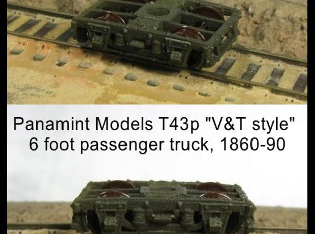 "T43p x8 N scale 1855-80 ""V&T 9 style"" 6' pass truc 3d printed"