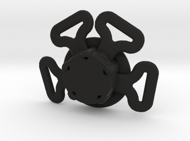 Seatbelt Assembly - 1/10 in Black Natural Versatile Plastic