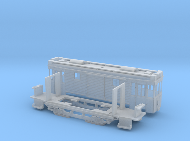 Kastenschlepper BVG in Smooth Fine Detail Plastic