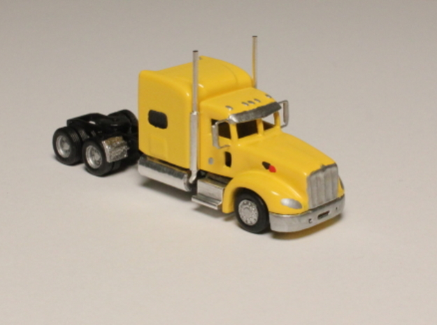 1:160 N Scale Peterbilt 386 Semi Tractor