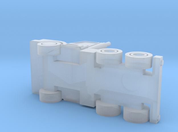 3 Axle Semi-Truck, 3-Achs Zugmaschine 1/285 6mm 3d printed