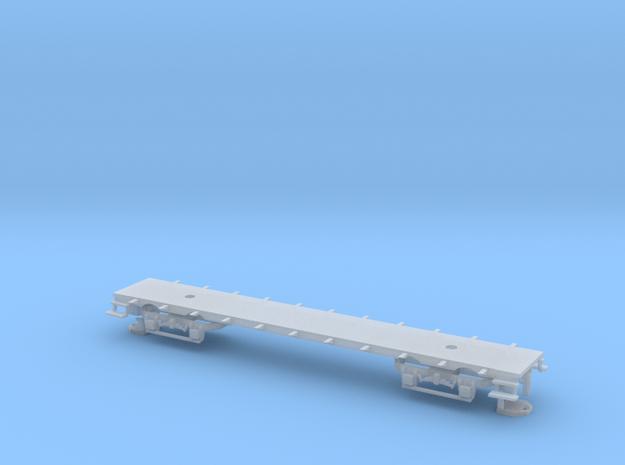 Boden und Drehgestelle für YSC B 31 (Nm, 1:160) in Frosted Ultra Detail