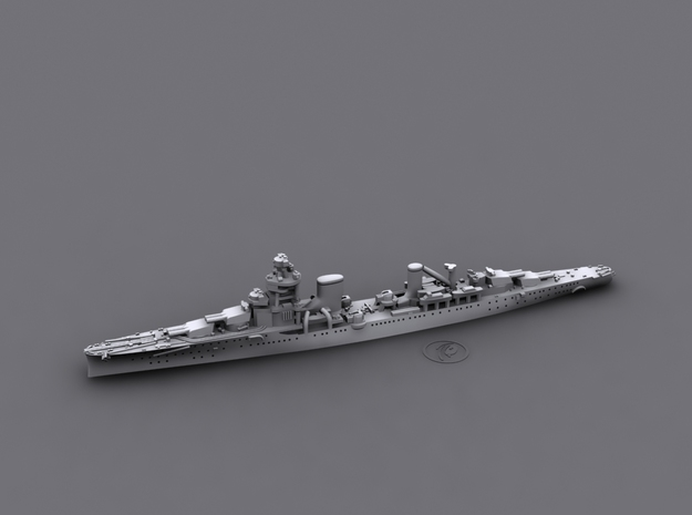 1/1800 IT CL Alberto diGiussano[1940] (Condottieri 3d printed