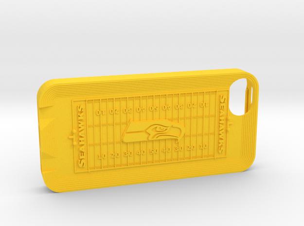 iPhone 5 Football SH 3d printed