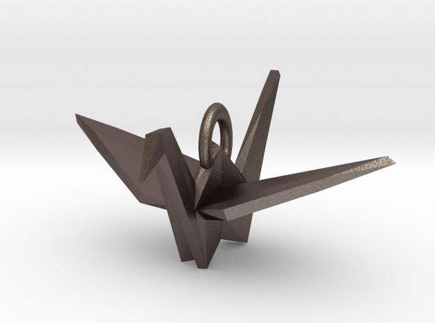 Origami Crane Pendant