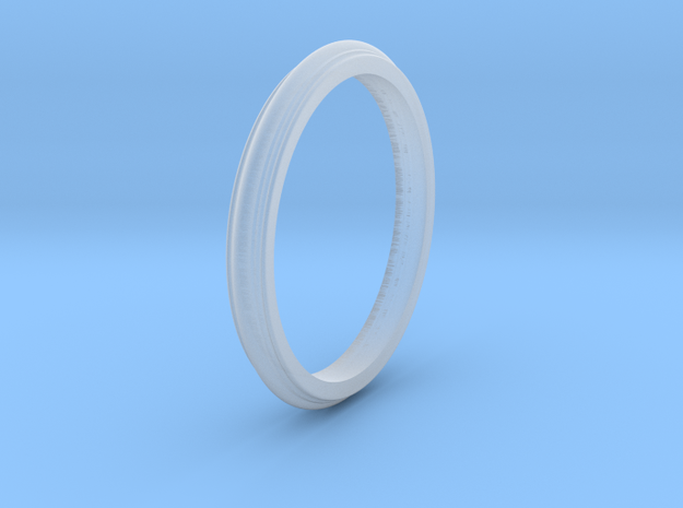 Plastic Scalloped Edge Bracelet 3d printed