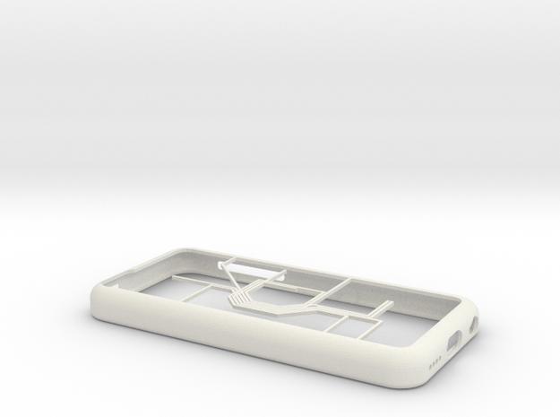 Oslo Metro map iPhone 5c case in White Natural Versatile Plastic