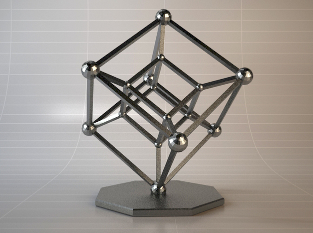 Hypercube in Black Strong & Flexible