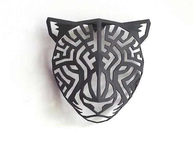 Modern Faux Taxidermy - Cheetah Head (M)