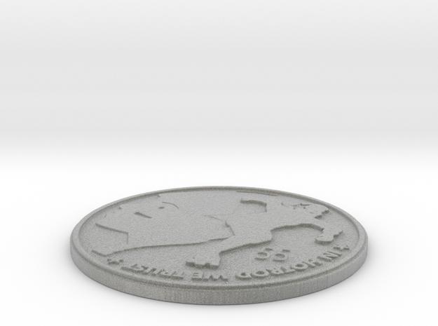 suzy hotrod medallion in Metallic Plastic