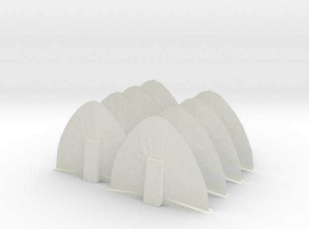 Energy Barricade 06mm 8 Pack in White Natural Versatile Plastic