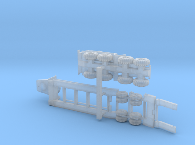 MAZ 537 Tank Transporter 1/285 6mm 3d printed
