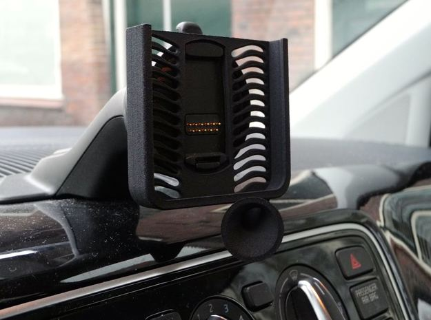 iPhone 6 mount VW up navigon stand in Black Natural Versatile Plastic