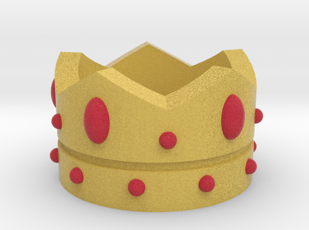 Crown in Full Color Sandstone
