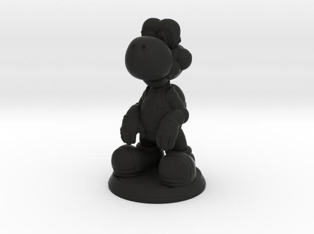 Mecha Yoshi [Figurine] in Black Natural Versatile Plastic