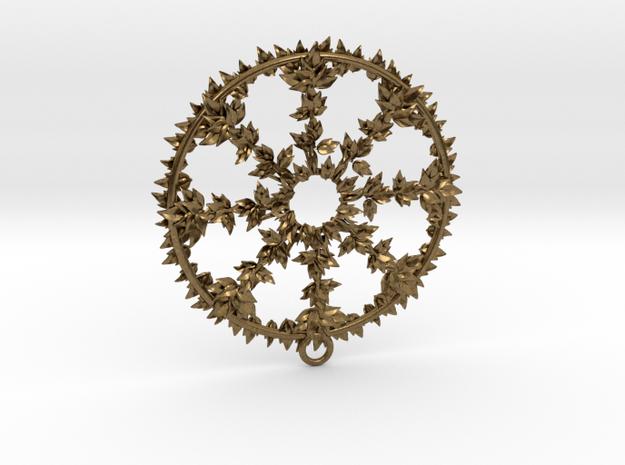 Hub Cap Leafy Wheel 3d printed