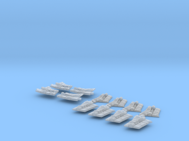 Battlestar Pegasus Arm Face Assembly