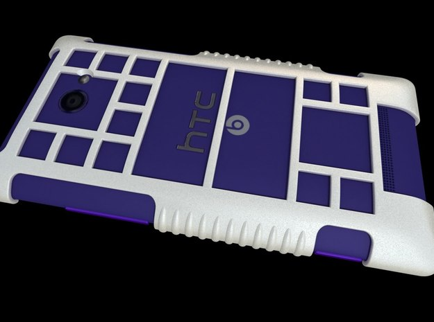 "HTC 8X Custom Case ""Windows Phone 8"" Theme 3d printed"
