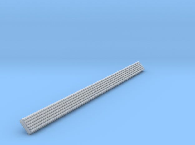 HO Scale 90 Degree INSIDE Structure Corner Trim in Smooth Fine Detail Plastic