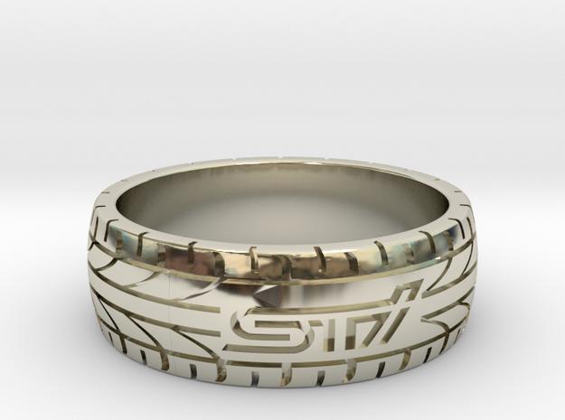 Subaru STI ring - 21 mm (US size 11 1/2)