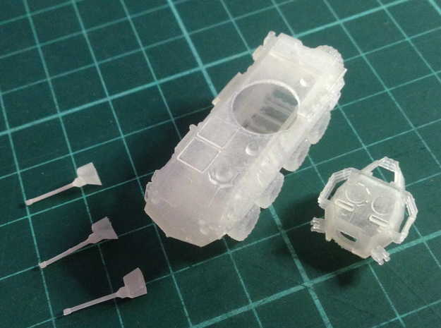 ASLAV-25 TYPE 1(N/1:144 Scale) in Frosted Ultra Detail