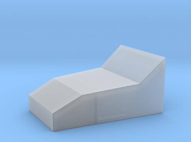 Perspex Block for Rangefinder ROTJ in Smooth Fine Detail Plastic