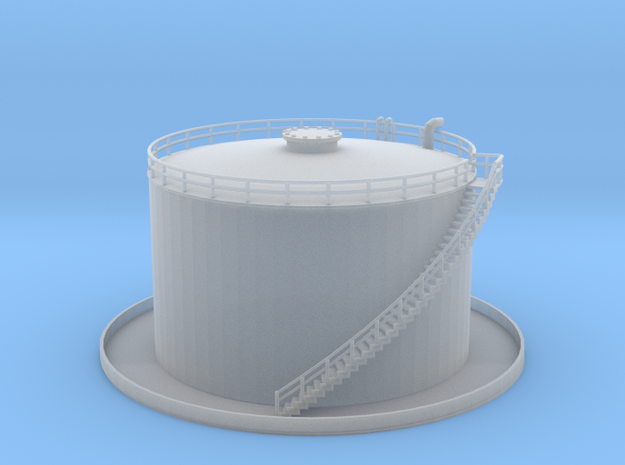Oil Tank 30 Ft Z Scale in Smooth Fine Detail Plastic
