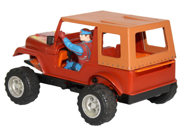 M.A.S.K. Gator Convertible Soft Top in White Processed Versatile Plastic