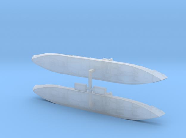 "German Auxiliary Cruiser HSK ""Widder"" 1/1800 3d printed"