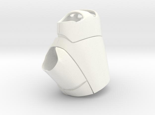 Iron Man Armor - Palm-R in White Processed Versatile Plastic