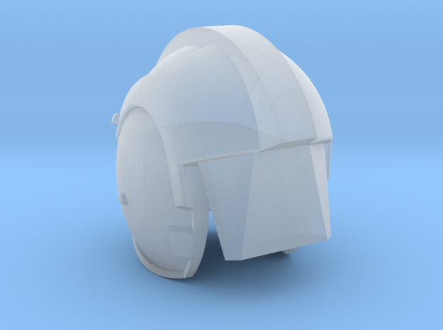 HELMET DEAGO  in Smooth Fine Detail Plastic
