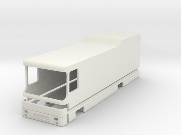 Clou Liner I L900 Modell 1:87 Grundrissversion A B in White Natural Versatile Plastic