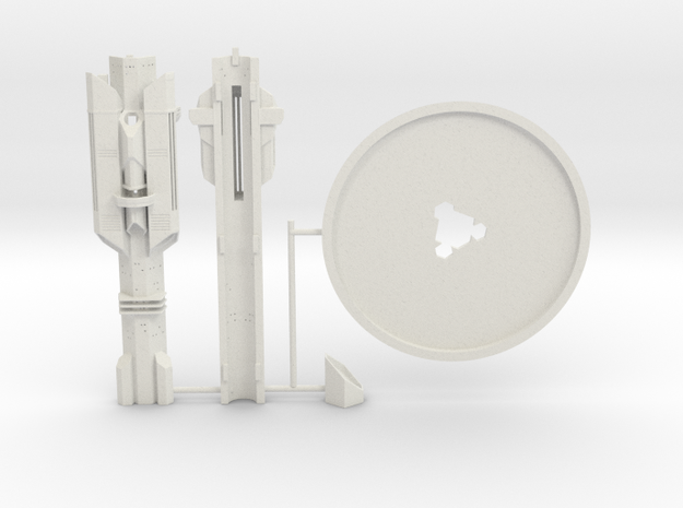 Atlantis Tower KIT in White Strong & Flexible