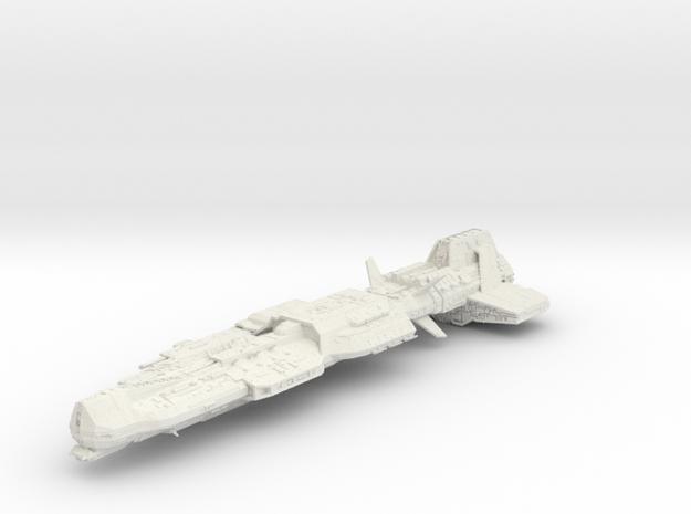 Aurora Ship 21cm in White Natural Versatile Plastic