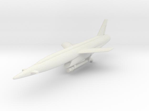 Vought SSM-N-9 Regulus II 1/200 in White Natural Versatile Plastic