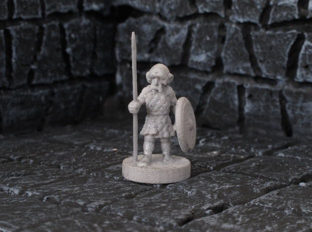 Olwulf the Loyal in White Natural Versatile Plastic