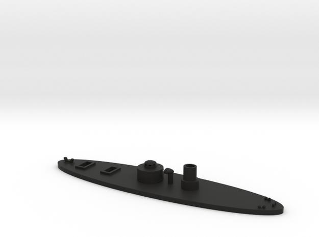 1/600 USS Lehigh in Black Natural Versatile Plastic