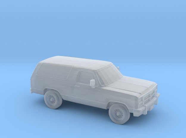 1/87 1993 Dodge Ramcharger in Smooth Fine Detail Plastic