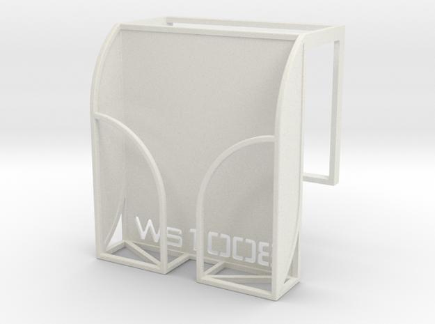 iPhone 5 Bed Hanger in White Natural Versatile Plastic